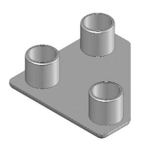 Cap 45x45 - angular