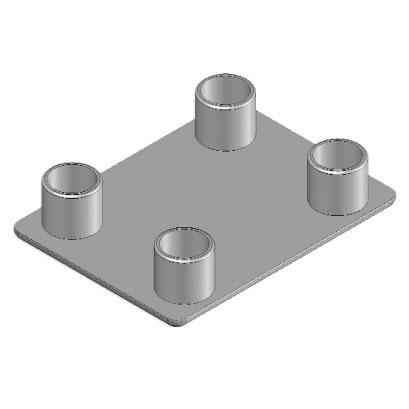 Cap round 45x60