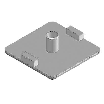 Cap 32x32 4 slot