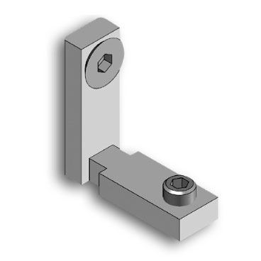 Internal orthogonal joint