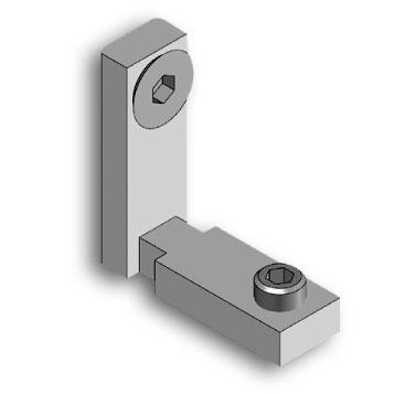 Internal articulated joint