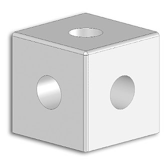 Cube joint 2V 22x22