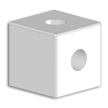 Cube joint 3V 22x22