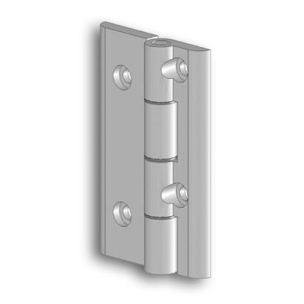 Comb aluminium hinges